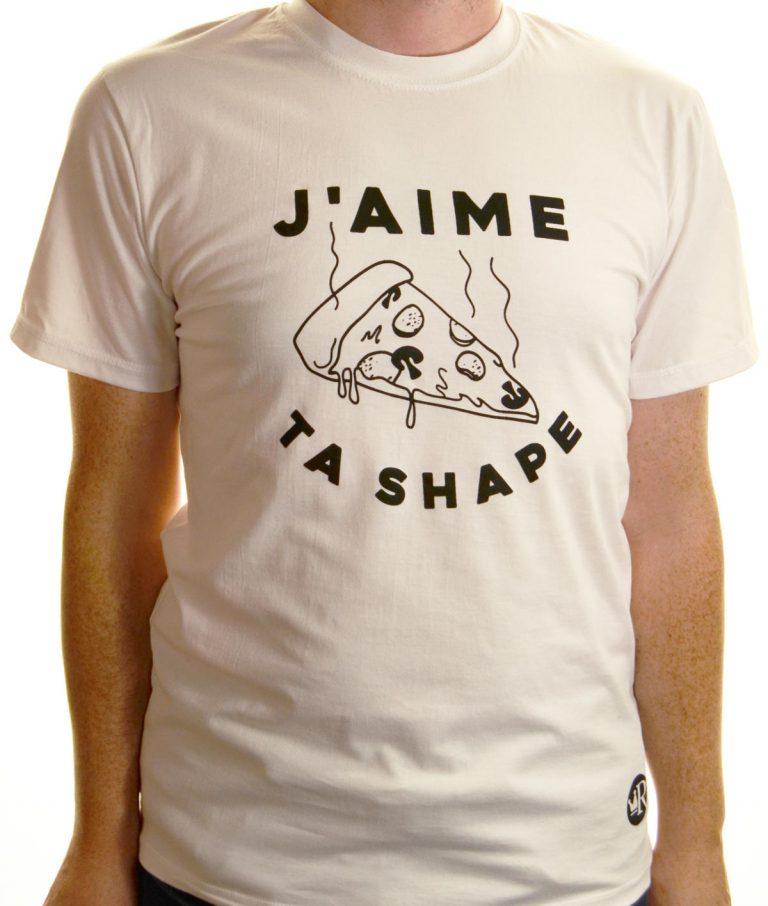 T-shirt J'aime ta shape
