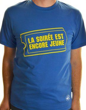 T-shirt club vidéo
