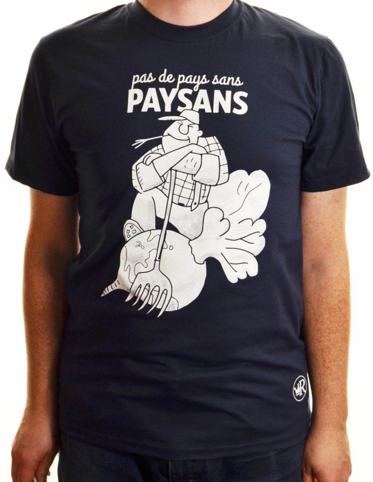 T-shirt Pas de pays sans paysans