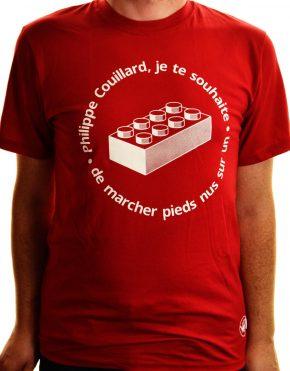 T-shirt Pieds nus