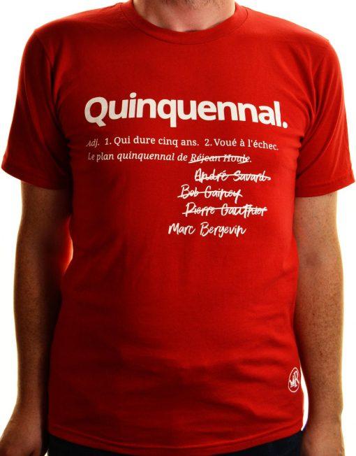 T-shirt Quinquennal