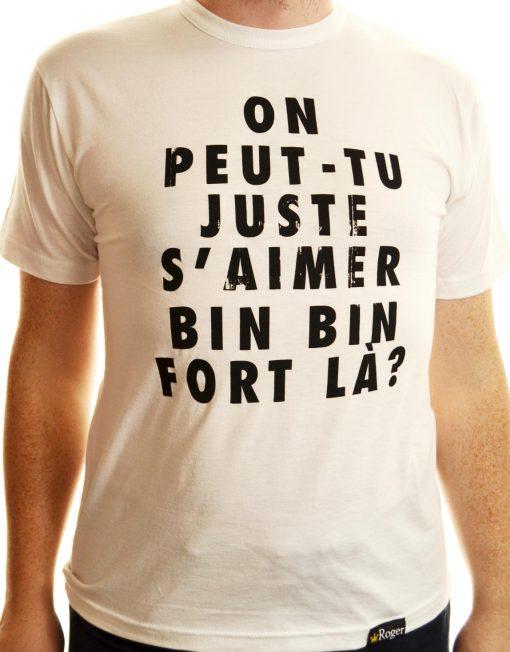 T-shirt S'aimer fort