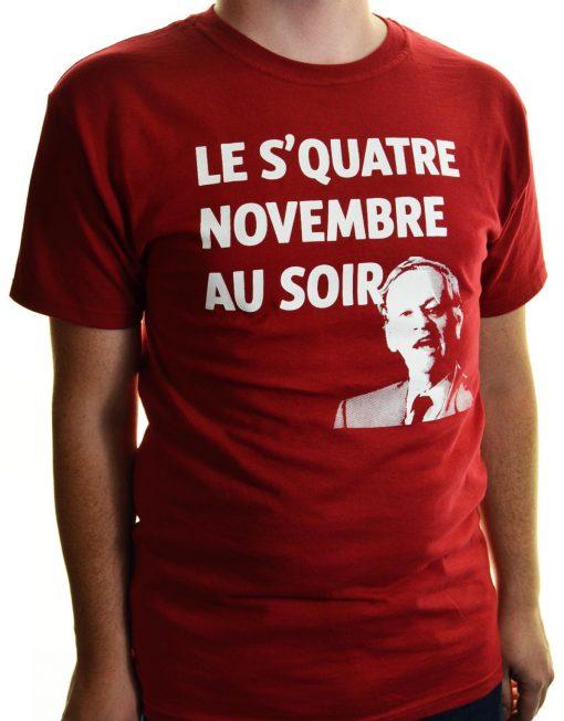 T-shirt squatre